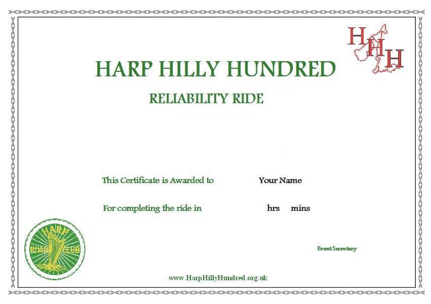 HHH Certificate